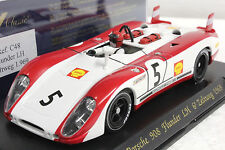 FLY C48 PORSCHE 908 FLUNDER ZELTWEG 1969 NEW 1/32 SLOT CAR IN DISPLAY CASE