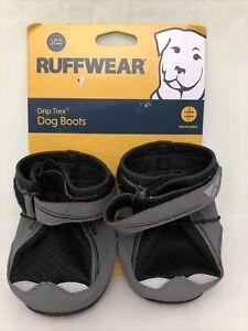 Ruffwear Grip Trex All Terrain Dog Boots Size 3.25 inch Black One Pair New