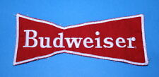 Vintage Budweiser Beer Cloth Embroidered Staff Uniform Patch ~ Bow Tie ~ New