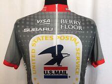 Nike Cycling Jersey Mens Cycling Jersey Large L US Post Office USPS Dri Fit Rare