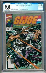 G. I. Joe, A Real American Hero #103 (1990) CGC 9.8  White Pgs.  Hama - Weeks