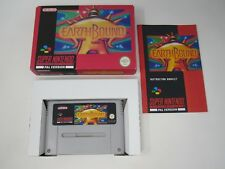 EarthBound - Nintendo SNES (PAL) Game - Reproduction Repro