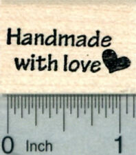Handmade with Love Rubber Stamp A30614 WM