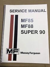 SUPER 90 Massey Ferguson Tractor Technical Service Shop Repair Manual MF90 MF 90