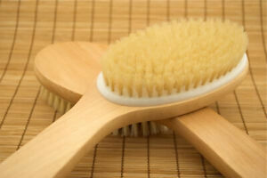 Exfoliating Angled Body Brush Dry Skin Brushing Exfoliation, Detox,Acne,Celulite