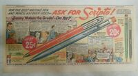 Scripto Pens & Pencils Ad: Jimmy Makes The Grade ! from 1940's Size: 7 x 15 in