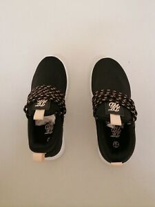 DFND Slip-On Black Trainers size 11 {1}