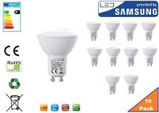 GU10 LED Bulb Warm White, 6W, 480 lumens, 3000K, 120° Beam Angle - Pack of 12