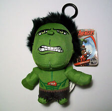 Marvel Increíble Hulk Mini Bolso De Felpa Que Habla 13cm Clip-On/Llavero
