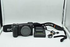 Sony Alpha a6500 24.2MP Digital Camera - Black (Body Only) Excellent B060