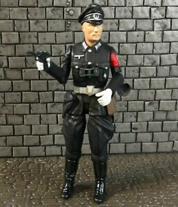 """21st Century Toys Ultimate Soldier XD German Elite SS Guard Officer 1:18 3.75"""""""