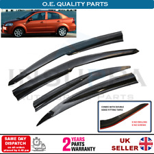 WIND RAIN SUN SMOKE DEFLECTORS 4 pcs FOR CHEVROLET AVEO T250 BERLINA 4DR 05-11