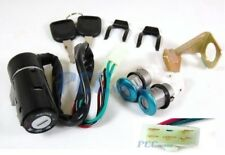 5 WIRES Key Switch Ignition Set Scooter Moped Motorcycle GY6 ATV Bike I KS20SRED
