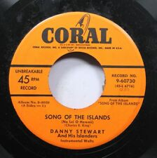 50'S & 60'S Unplayed Stock 45 Danny Steward And His Islanders - Songs Of The Isl