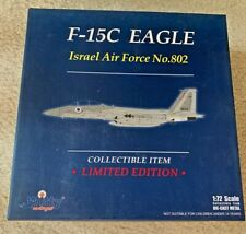 Witty WTW 72005-25 F-15C Eagle Diecast Model IDF/AF 106th (Spearhead) Sqn Israel