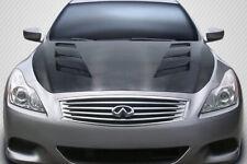 08-15 Fits Infiniti G Coupe 2DR AM-S DriTech Carbon Fiber Body Kit- Hood! 112966