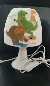 Dinosaurier Tischlampe Dino Lampe Nachtlicht Kinderzimmer Deko Serviette LED