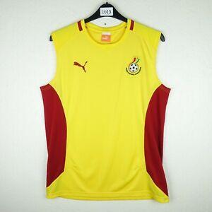 Ghana Football Training Vest Size Large (1013)