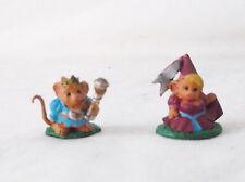 Mousling King & Princess-Dark Heaven-Reaper MiniatureD&D-Custom Painted Pizzazz