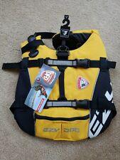 EZY Dog EzyDog Life Jacket Dog Flotation Device K9 Vest Seadog Size Small Yellow