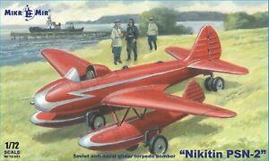 Nikitin PSN-2, Soviet anti-naval glider torpedo << Micro-Mir #72-021, 1:72 scale