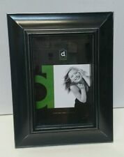 Phillip black wooden photo picture frame 4x6