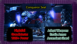Weekly Nightfall Grand Master PS4 and (Cross Save)