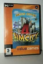 SIM CITY 4 DELUXE EDITION GIOCO USATO BUONO PC CDROM VERSIONE ITALIANA GD1 43228
