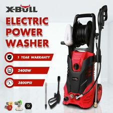 X-BULL 3800Psi High Pressure Water Cleaner Electric Washer Gurney Pump 10M Hose
