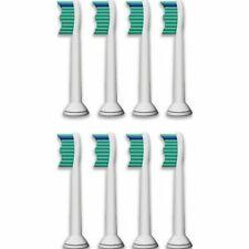 8 TOOTHBRUSH HEADS COMPATIBLE FOR PHILIPS HX6013 HX6011 HX6014 HX6530