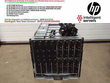 HP C7000 G2 4x HP BL620c G7 8x BL460c G7 1TB RAM Blade Server Configuration