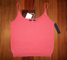 JOE'S JEANS 100% Cotton Coral Lina Tank Top - Size S