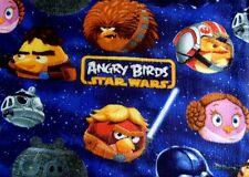 LLC ANGRY BIRD STAR WAR CHARACTERS 2009-2013 FLEECE MATERIAL 2YDS 60x72