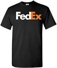 Fedex -White Orange T-Shirt, Delivery Driver T-Shirt Sizes S-2XL