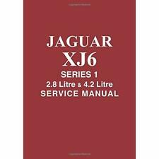 Jaguar XJ6, 2.8/4.2 Series 1 Workshop Manual (Official­ - Paperback / softback N