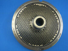 56 X 18 Holes Meat Grinder Plate For Hobart Biro Butcher Boy Exc Condition