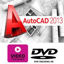 Autodesk AutoCAD 2013 – Professional Video Training Tutorial DVD