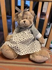 Baby Ganz Little Girl Bear Nwt Plush Adorable Dress Bg3777 Mila All Dressed Up