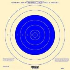 Nra Paper Tq-4(P) 200-Official 100 Yd Small Bore Rifle Target for practice-blue