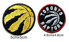 Toronto Raptors set2pcs Logo Embroidery iron,sew,Patch,decorate on cloth