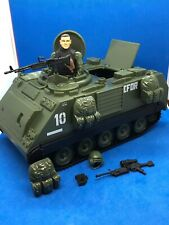 ELITE FORCE M-113 ARMORED VEHICLE W SOLDIER LOOSE COMPLETE