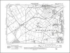 US CONFEDERATE STATES 1862 VA MAP Wolf Trap Woodburn Woodlake Wyndham Wytheville