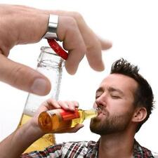 Ring Bottle Opener Fits on your Finger Gadget Gift Beer Opening Party Accessory