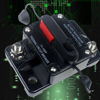 Genuine 50A AMP Circuit Breaker Dual Battery Manual Reset IP67 12V 24V Volt Fuse