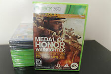 Medal of Honor: Warfighter Limited Edition  (Xbox 360, 2012) *New/Factory Sealed