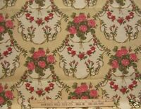 GUELL LA Madrid Mora  Gorgeous Roses In Cameos Fabric  LOVELY!