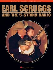 Earl Scruggs and the 5-String Banjo Sheet Music Revised and Enhanced E 000695764