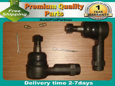 2 REAR OUTER TIE ROD END FOR  PONTIAC BONNEVILLE 87-99 PONTIAC FIERO 84-87