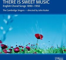 Cambridge Singers - There Is Sweet Music: English Choral Songs [New CD]