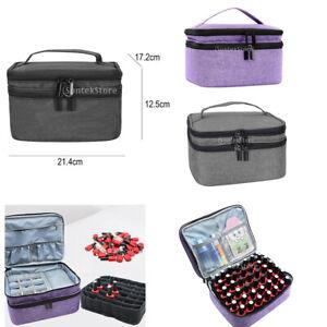 Nagellackhalter Aufbewahrungskoffer Box Organizer Für 30 Flaschen 5-15ml